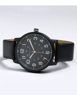 Faux Leather Analog Watch by Aeropostale