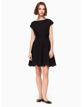 Cutwork Fiorella Dress by Kate Spade