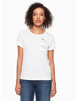 Bee My Honey Tee by Kate Spade