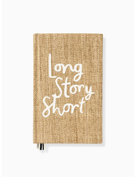 Word To The Wise Long Story Short Journal by Kate Spade