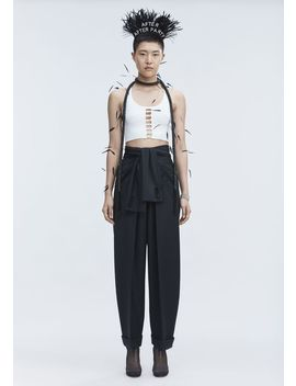 Tie Front Pants by Alexander Wang