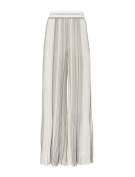 Striped Lurex Cropped Pants by Missoni