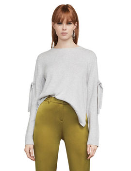 Emery Sleeve Tie Sweater by Bcbgmaxazria