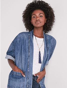 Denim Kimono Jacket by Lucky Brand