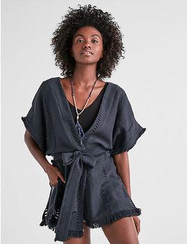 Open Texture Wrap Kimono by Lucky Brand