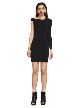 Karli One Sleeve Sweater Dress by Bcbgmaxazria