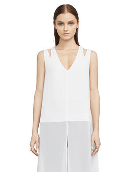 Kadie Cutout Tunic Top by Bcbgmaxazria