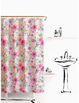 Dahlia Shower Curtain by Kate Spade