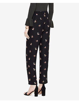 The Petite Trouser Pant In Shawl Floral by Ann Taylor
