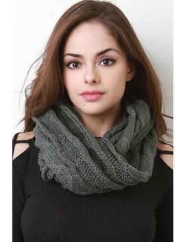 Interwoven Crochet Infinity Scarf by Urbanog