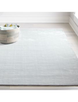 Mirage Light Blue 8 X 10' Rug by Crate&Barrel