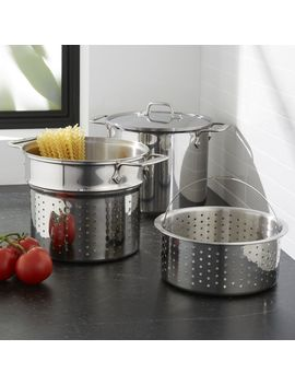 All Clad ® 8 Qt. Stainless Steel Multi Cooker With Lid by Crate&Barrel