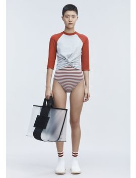 Twist Front Top by Alexander Wang