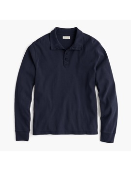 Cotton Mockneck Pullover by J.Crew