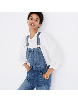 Straight Leg Overalls In Bernard Wash by Madewell