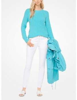 Cotton Blend Pullover by Michael Michael Kors