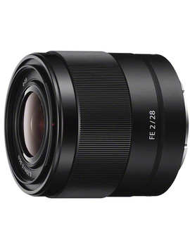 Fe 28mm F/2 Lens by Sony