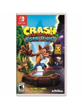 Nintendo Switch by Crash Bandicoot™ N. Sane Trilogy