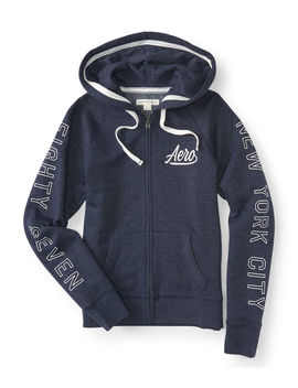 Aero Eighty Seven Full Zip Hoodie by Aeropostale