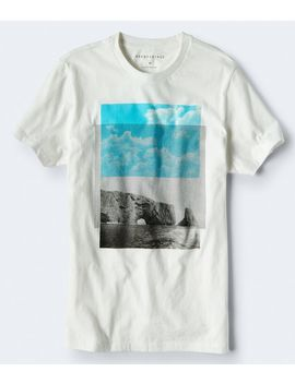 Rising Mountain Graphic Tee by Aeropostale