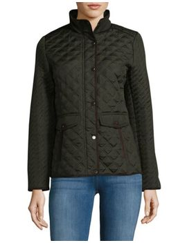 Quilted Hooded Jacket by Weatherproof