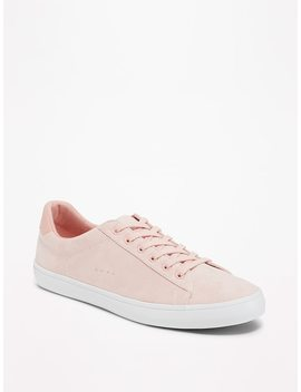 Sueded Classic Sneakers For Women by Old Navy