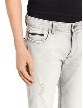 Electronic Destructed Slim Fit Jeans by Calvin Klein Jeans