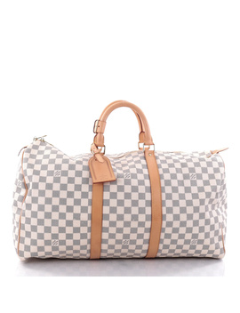 Pre Owned: Keepall Bag Damier 50 by Louis Vuitton