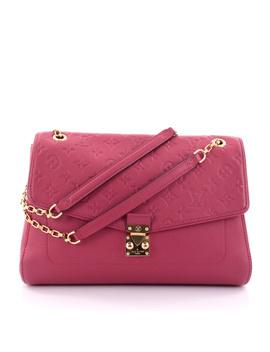 Pre Owned: Saint Germain Handbag Monogram Empreinte Leather Mm by Louis Vuitton
