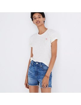 Pre Order The Perfect Jean Short In Butler Wash by Madewell