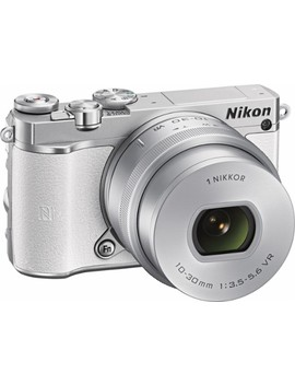 1 J5 Mirrorless Camera With Nikkor 10 30mm F/3.5 5.6 Pd Zoom Lens   White by Nikon