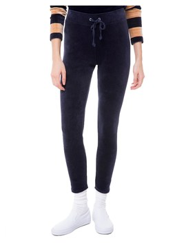 Velour Juicy Wildstyle Legging by Juicy Couture