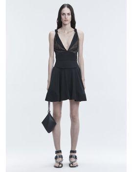 Flared Mini Dress by Alexander Wang