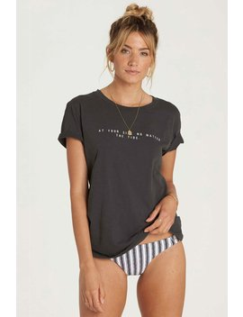 At Your Side Boyfriend Tee by Billabong