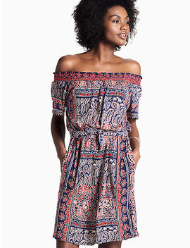 Off Shoulder Knit Dress by Lucky Brand