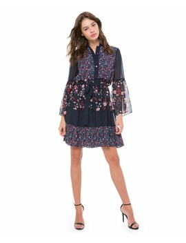 Caprice Floral Mix Flirty Dress by Juicy Couture