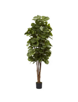 Nearly Natural 6 Ft. Fiddle Leaf Fig Tree by Asstd National Brand
