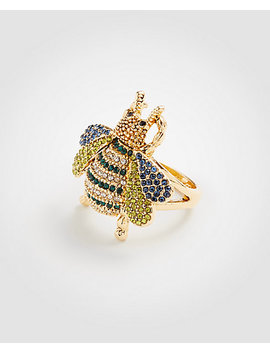 Crystal Bee Ring by Ann Taylor