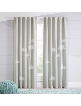 Cloud Blackout Curtains by Crate&Barrel