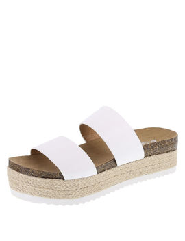 Women's Skyline Two Band Platform Sandal by Learn About The Brand Brash