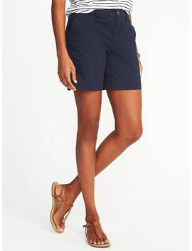 """Mid Rise Everyday Shorts For Women (7"""") by Old Navy"""