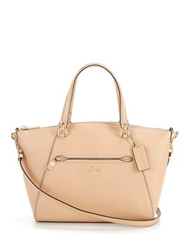 Coach Prairie Pebble Leather Satchel by Coach