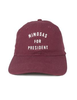 Mimosas For President Dad Hat by Trendy