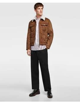 faux-suede-double--sided-jacketfaux-suede-jackets-man by zara