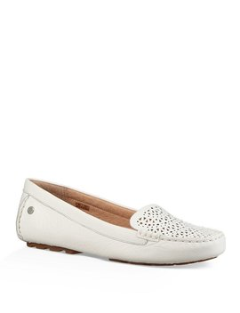 Ugg® Clair Perforated Slip On Moccasins by Ugg