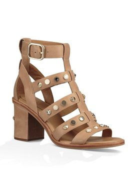 Ugg® Macayla Stud Detail Gladiator Block Heel Sandals by Ugg