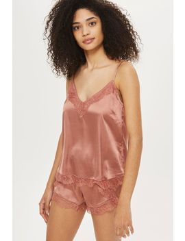 Lace Camisole And Shorts Set by Topshop