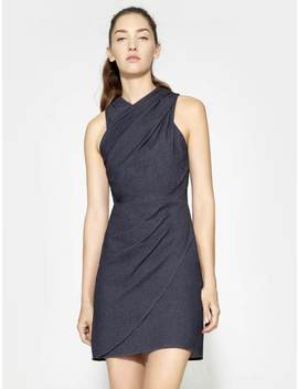 Fitted Drape Dress by Halston