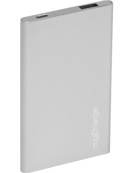 Razor Plus Usb Portable Power Bank   Silver by My Charge