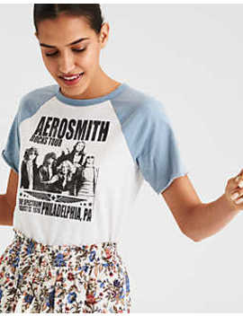 Ae Aerosmith Graphic Tee by American Eagle Outfitters